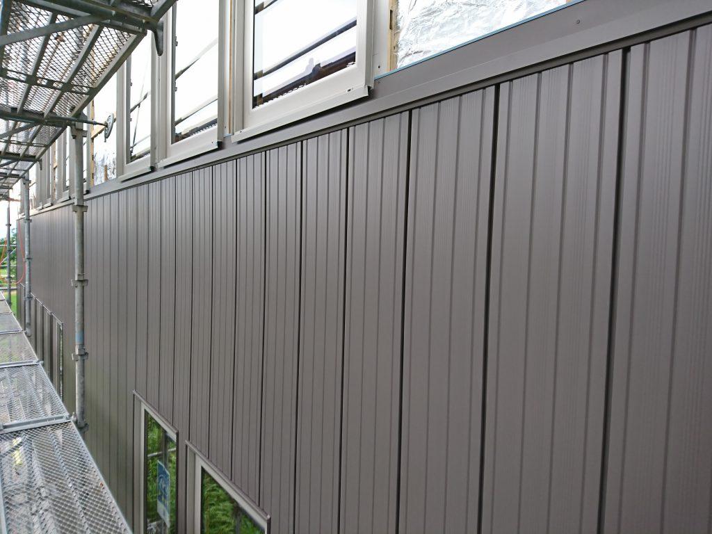 エコな家の外壁施工3