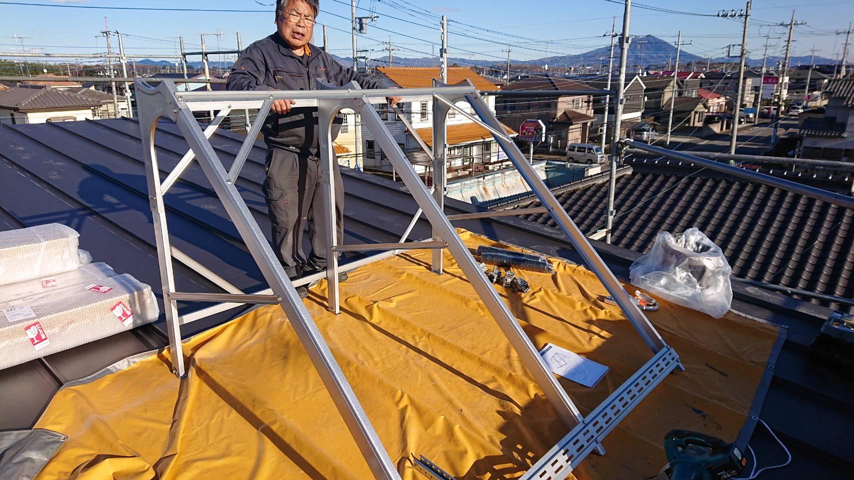 太陽熱温水器3