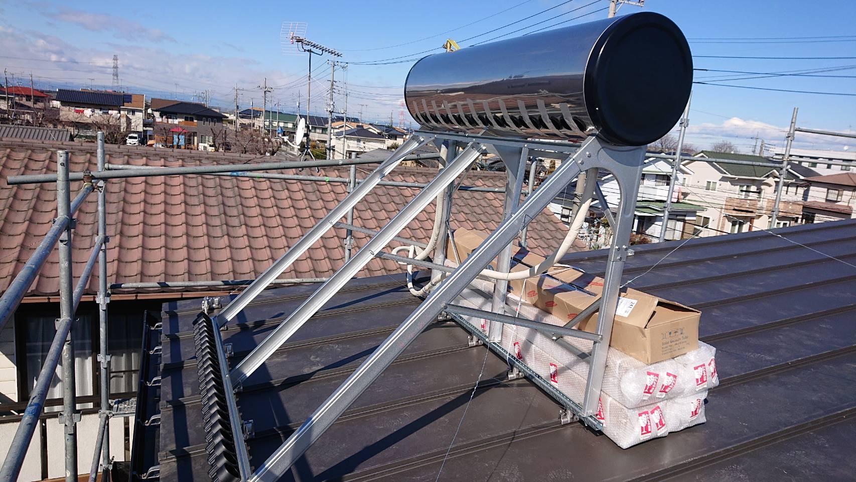 太陽熱温水器7
